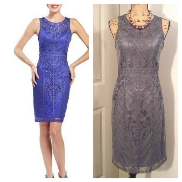 Sue Wong Dresses & Skirts - Sue Wong Dress sz 4 charcol sapphire NWT Petite